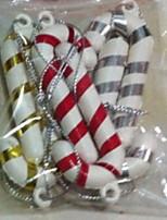 Недорогие -Праздничные украшения Рождественский декор Рождественские украшения Декоративная Белый 6шт