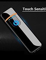 Недорогие -зажигать прочный USB-прикуриватель с сенсорным ветрозащитным табаком