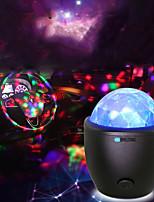 Недорогие -BRELONG® 1шт LED Night Light RGB USB светодиодов / Простота транспортировки / Украшение 5 V