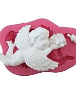 Недорогие -Инструменты для выпечки силикагель обожаемый / 3D / Творческая кухня Гаджет Торты / Для приготовления пищи Посуда Формы для пирожных 1шт