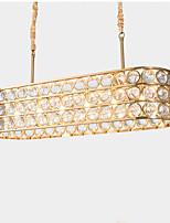 Недорогие -QIHengZhaoMing 8-Light Люстры и лампы Рассеянное освещение Окрашенные отделки Металл 110-120Вольт / 220-240Вольт Теплый белый Светодиодный источник света в комплекте