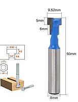 abordables -GUTMAX Haut débit Outils Fraise Réparation à domicile Travail du Bois