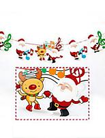 baratos -Decorações de férias Decorações Natalinas Enfeites de Natal Desenho Animado / Decorativa Padrão 1pç