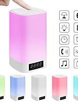 Недорогие -brlong красочные огни беспроводной Bluetooth время ночной свет 1 шт.