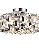 abordables -CXYlight 3 lumières Globe / Nouveauté Montage du flux Lumière dirigée vers le bas Plaqué Acrylique Acrylique Design nouveau 110-120V / 220-240V