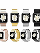 abordables -Bracelet de Montre  pour Apple Watch Series 4 / Apple Watch Series 4/3/2/1 Apple Boucle Classique Métallique / Acier Inoxydable Sangle de Poignet