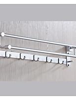 Недорогие -Держатель для полотенец Новый дизайн / Cool Современный Нержавеющая сталь / железо 1шт 2-х опорная балка На стену