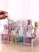 Недорогие -Место хранения организация Косметологический макияж пластик Прямоугольная форма непокрытый / Одиночный слой