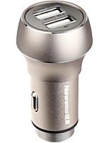 Недорогие -Newmine Автомобиль Автомобильное зарядное устройство / Прикуриватель 2 USB порта для 5 V