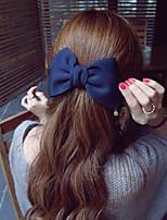 Недорогие -Аксессуары для волос Экологичный материал Клипсы Декорации Многофункциональный / Легкий и удобный 1 pcs Повседневные Мода Красный Розовый Синий