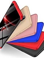 Недорогие -Кейс для Назначение OnePlus OnePlus 6 Защита от удара / Матовое Кейс на заднюю панель Однотонный Твердый ПК для OnePlus 6