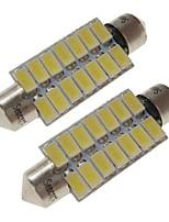Недорогие -SENCART 2pcs 41mm Автомобиль Лампы 7 W SMD 5730 420 lm 14 Светодиодная лампа Внутреннее освещение / Внешние осветительные приборы Назначение