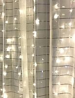 Недорогие -4м Гирлянды 84 светодиоды Тёплый белый Декоративная 220-240 V 1 комплект