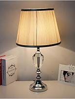 abordables -Artistique Décorative Lampe de Table Pour Chambre à coucher / Bureau / Bureau de maison Cristal 220V