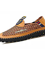 Недорогие -Муж. Комфортная обувь Сетка / Полиуретан Лето На каждый день Мокасины и Свитер Нескользкий Желтый / Военно-зеленный / Синий