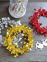 Недорогие -Праздничные украшения Новый год / Рождественский декор Рождество Для вечеринок / Декоративная Красный / Зеленый / Синий 1шт