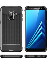 Недорогие -Кейс для Назначение SSamsung Galaxy A6 (2018) / A6+ (2018) / Galaxy A7(2018) Защита от удара Кейс на заднюю панель Однотонный Мягкий ТПУ