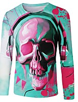 abordables -Inspiré par KARNEVAL Cosplay Manga Costumes de Cosplay Cosplay T-shirt Nouveauté / Mode / Crânes Tee-shirt Pour Unisexe