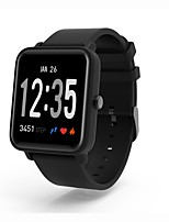 abordables -Kimlink DO10 Montre Smart Watch Bluetooth Moniteur de Fréquence Cardiaque Mesure de la pression sanguine Calories brulées Suivi de distance Information Chronomètre Podomètre Rappel d'Appel Moniteur