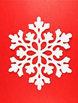 baratos -Decorações de férias Decorações Natalinas Natal / Enfeites de Natal Festa / Decorativa / Casamento Vermelho / Verde / Rosa claro 24pcs