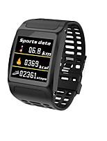 Недорогие -Indear Z01 Умный браслет Android iOS Bluetooth Спорт Водонепроницаемый Пульсомер Измерение кровяного давления Сенсорный экран / Израсходовано калорий / Длительное время ожидания / Педометр
