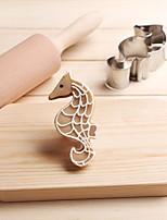 Недорогие -гиппокамп морской конек печенье резак из нержавеющей стали торт плесень кухонные инструменты
