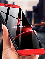 Недорогие -Кейс для Назначение Xiaomi Redmi 6 Защита от удара / Матовое Кейс на заднюю панель Однотонный Твердый ПК для Redmi 6