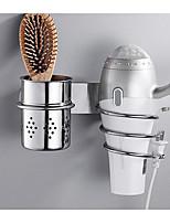 Недорогие -Сушилки для волос Новый дизайн / Cool Современный Нержавеющая сталь / железо 1шт На стену
