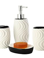 Недорогие -Держатель для зубных щеток / Набор для ванной Креатив Античный Керамика