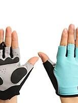 baratos -Meio dedo Todos Motos luvas Microfibra / Elastano Licra Respirável / Protecção / Antiderrapante