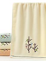 abordables -Qualité supérieure Serviette, Couleur Pleine 100% Coton Supima Chambre à coucher 1 pcs