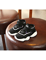 Недорогие -Мальчики / Девочки Обувь Трикотаж Осень Удобная обувь Спортивная обувь для Дети (1-4 лет) Черный / Серый
