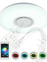 Недорогие -Монтаж заподлицо Потолочный светильник Пластик Управление Bluetooth 200-240 Вольт Теплый белый + белый