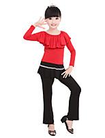 abordables -Danse classique Bas Fille Entraînement / Utilisation Elasthanne / Lycra Combinaison Taille moyenne Pantalon