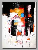 Недорогие -Hang-роспись маслом Ручная роспись - Абстракция Modern Включите внутренний каркас / Растянутый холст