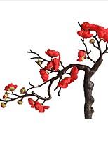 abordables -Fleurs artificielles 1 Une succursale Classique Elégant / Fleurs de mariage Plantes / Prune Fleur de Table