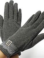 Недорогие -Полныйпалец Жен. Мотоцикл перчатки Хлопок / Полиэстер Дышащий / Сохраняет тепло