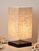 Недорогие -Простой Новый дизайн / Декоративная Настольная лампа Назначение Спальня Дерево / бамбук 220-240Вольт