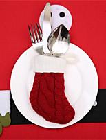 Недорогие -Праздничные украшения Новый год / Рождественский декор Рождество / Рождественские украшения Мультипликация / Для вечеринок / Декоративная Красный 1шт