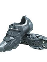 Недорогие -SIDEBIKE Взрослые Обувь для велоспорта Дышащий, Противозаносный, Anti-Shake Велосипедный спорт / Велоспорт / Горный велосипед Серый Муж.