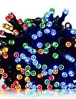 Недорогие -10 м Гирлянды 100 светодиоды Разные цвета Работает от солнечной энергии / Декоративная Солнечная энергия 1 комплект
