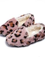 Недорогие -Мальчики / Девочки Обувь Искусственный мех Осень Зимние сапоги Ботинки для Дети Коричневый / Розовый / Леопард