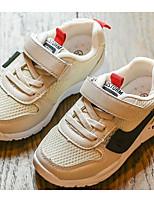 Недорогие -Мальчики / Девочки Обувь Полиуретан Весна Удобная обувь Спортивная обувь для Дети (1-4 лет) Черный / Бежевый / Красный