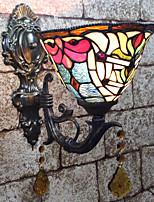 Недорогие -Творчество / Милый Тиффани / Ретро Настенные светильники / Освещение ванной комнаты Спальня / В помещении Смола настенный светильник 110-120Вольт / 220-240Вольт 25 W