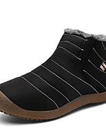 Недорогие -Муж. Комфортная обувь Синтетика Зима На каждый день Мокасины и Свитер Сохраняет тепло Черный / Темно-синий / Серый