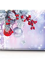 Недорогие -MacBook чехол масляной живописи мультфильм / рождество пвх для воздуха про сетчатки 11 12 13 15 чехол для ноутбука чехол для MacBook новый про 13,3 15 дюймов с сенсорной панелью