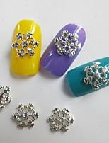billiga -10 pcs Nagelsmycken Multifunktion / Bästa kvalitet Kreativ nagel konst manikyr Pedikyr Jul / Dagligen Trendig / Mode