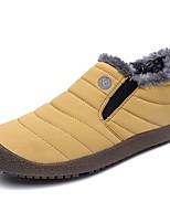 Недорогие -Муж. Комфортная обувь Искусственная кожа Наступила зима Спортивные / На каждый день Мокасины и Свитер Сохраняет тепло Ботинки Лиловый / Желтый