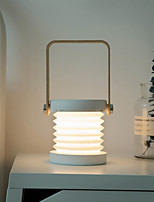 Недорогие -ZDM® 1шт лайтбокс 3D ночной свет / Кемпинг Открытый аварийный свет Тёплый белый Аккумуляторы AA / USB Для детей / Регулируется / Сенсорный датчик Батарея / 5 V