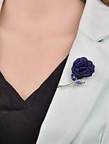 Недорогие -Жен. Старинный Броши - Стиль, Уникальный дизайн, Французкий Брошь Бижутерия Темно-синий / Винный / Серый Назначение Свадьба / Подарок